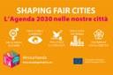Progetto Shaping fair cities, l'Agenda 2030 nelle nostre città