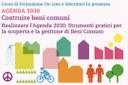 """Agenda 2030: corso di formazione """"Costruire beni comuni"""""""