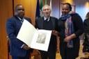 L'ambasciatore del Mozambico in visita di cortesia