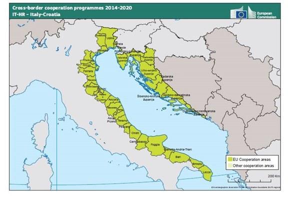 Italia Croazia Cartina.Programma Italia Croazia Approvati I Progetti Strategici Fondi Europei E Cooperazione Internazionale