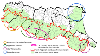 Mappa tutte aree interne
