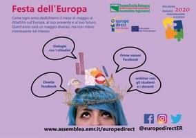 Festa dell'Europa e nuova indagine rivolta ai cittadini